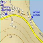 Koroni City Map 1:10'000 Sample 2