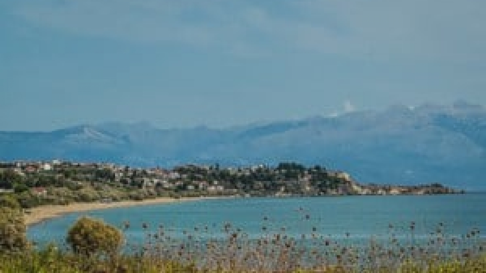 South View to Koroni with Taigetos