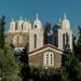 Crossed Roof Towers at Monastery Ioany Prodromou - Koroni
