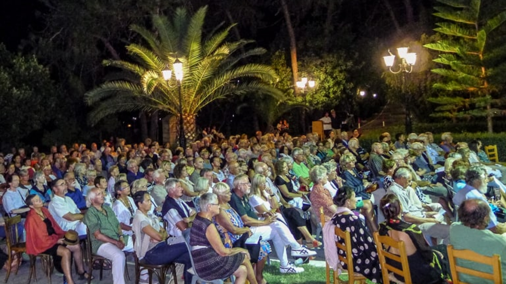 Concert Audience Is Listening - Koroni Event