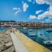 Koroni Harbour with Skyline - Sea Story
