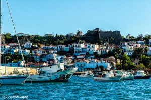 Koroni Harbour with Skyline