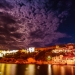 Fullmoon Behind the Clouds Above Koroni Kastro - Sky Story at Ni