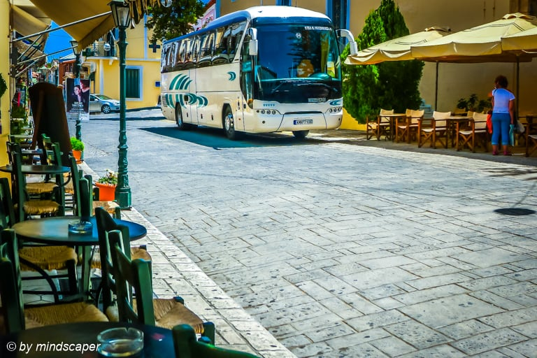 Modern KTEL Bus in Koroni - Travel