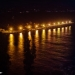Pier of Koroni Harbour by Night