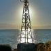 Navigational Light in the Morning Sun - Mediterranean Coast