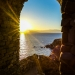 Sunrise at the Easter Gate of Koroni Kastro - Mediterranean Spirit