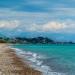 Zanga Beach with Turquoise Sea on a Cloud Day - Koroni Beaches