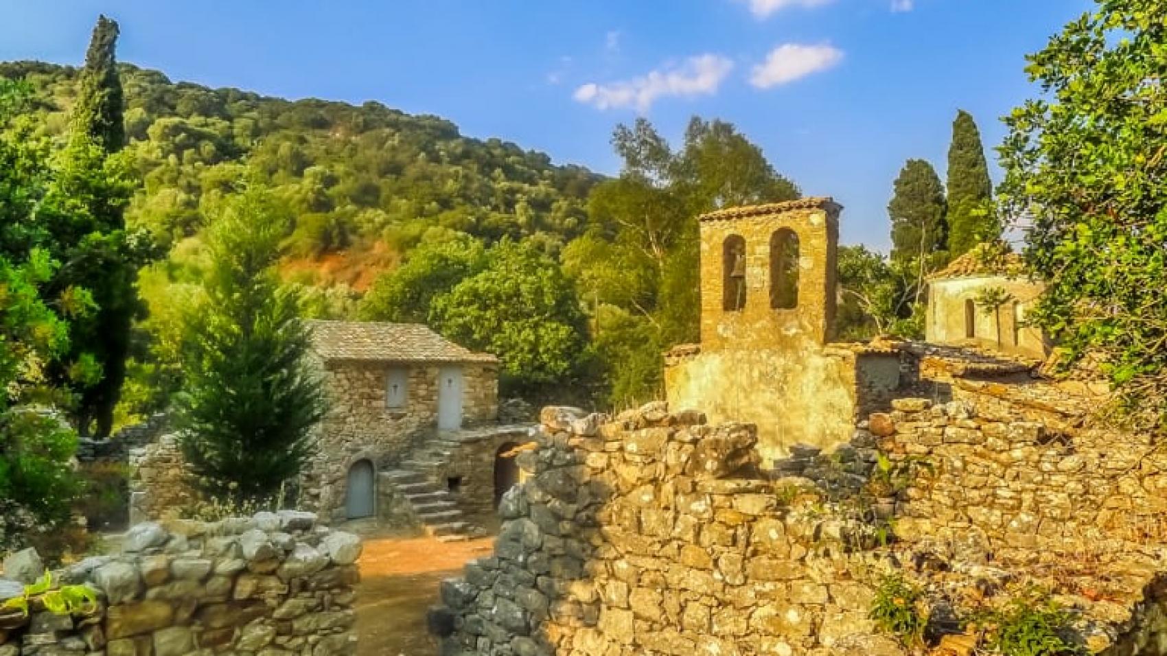 Agios Theodoris Monastery (Grivitsanis Monastery) - Chomatero