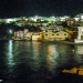 Lighted Kastro Skyline - Koroni by Night