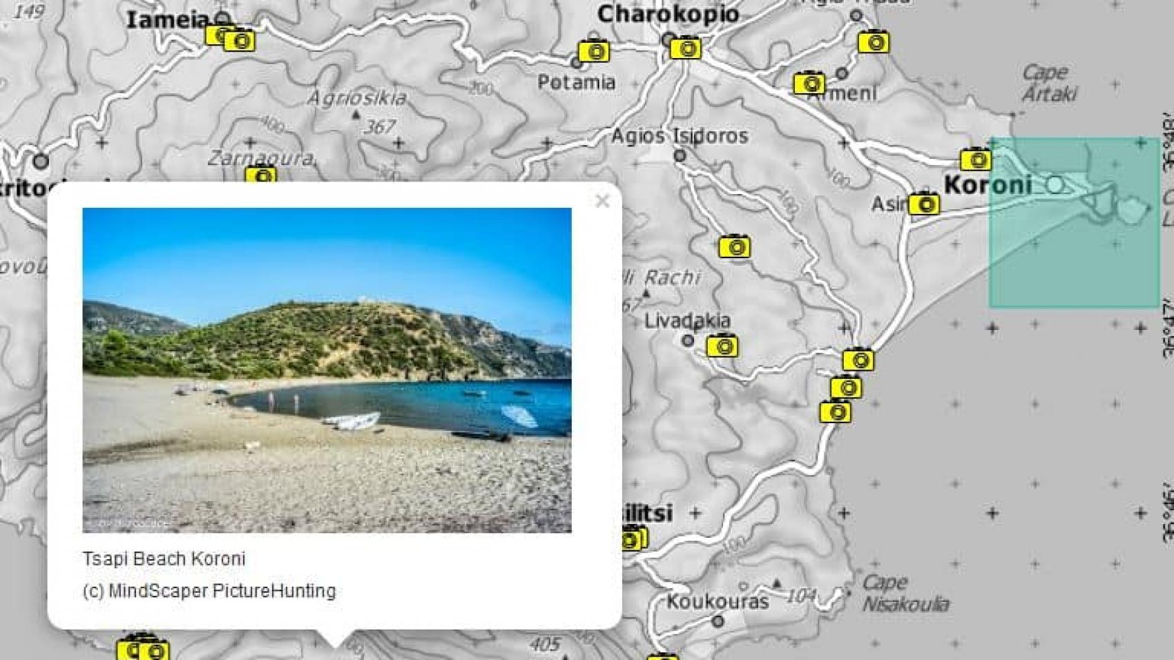 Koroni Surroundings Photo Map