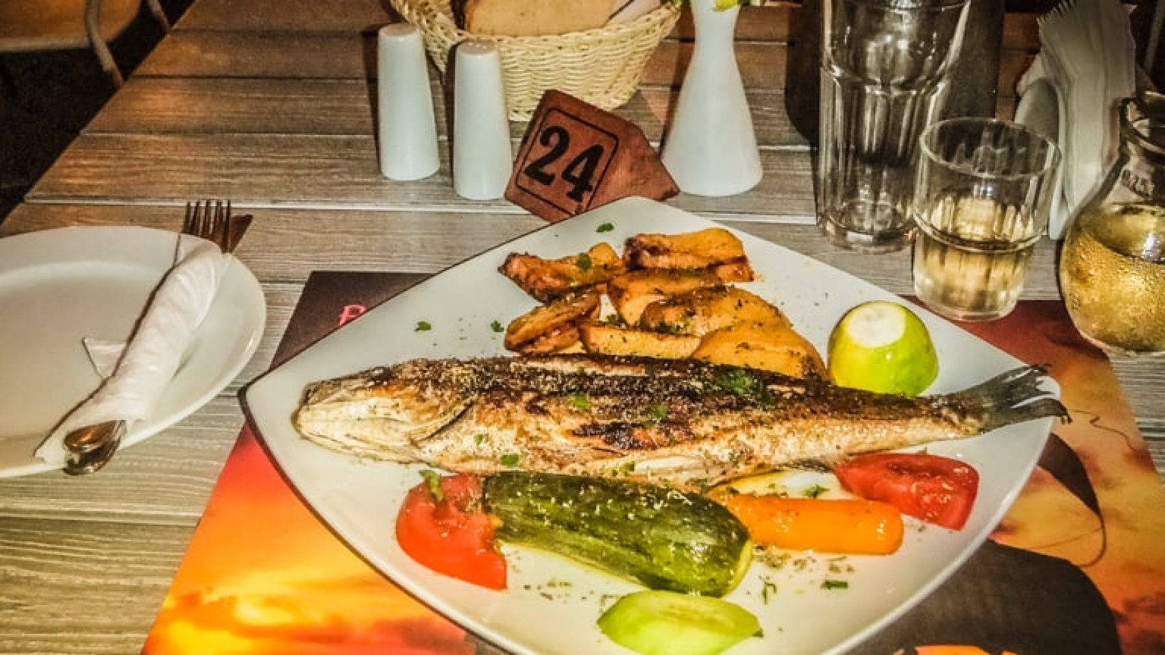 Grilled Fresh Fish at Barbarossa