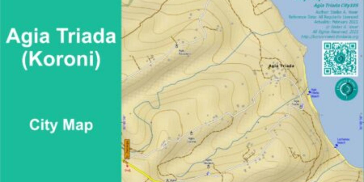 Agia Triada (Koroni) City Map