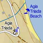 Agia Triada City Map 1:10'000 Sample 2
