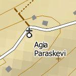 Agia Triada City Map 1:10'000 Sample 1