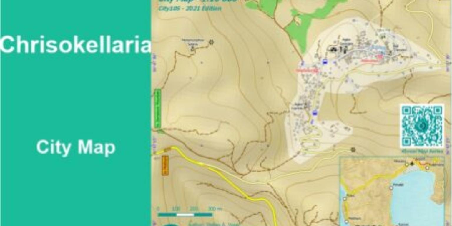 Chrisokellaria City Map