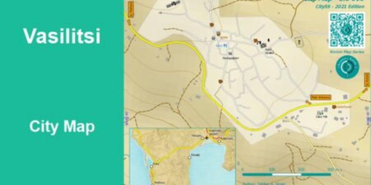 Vasilitsi City Map