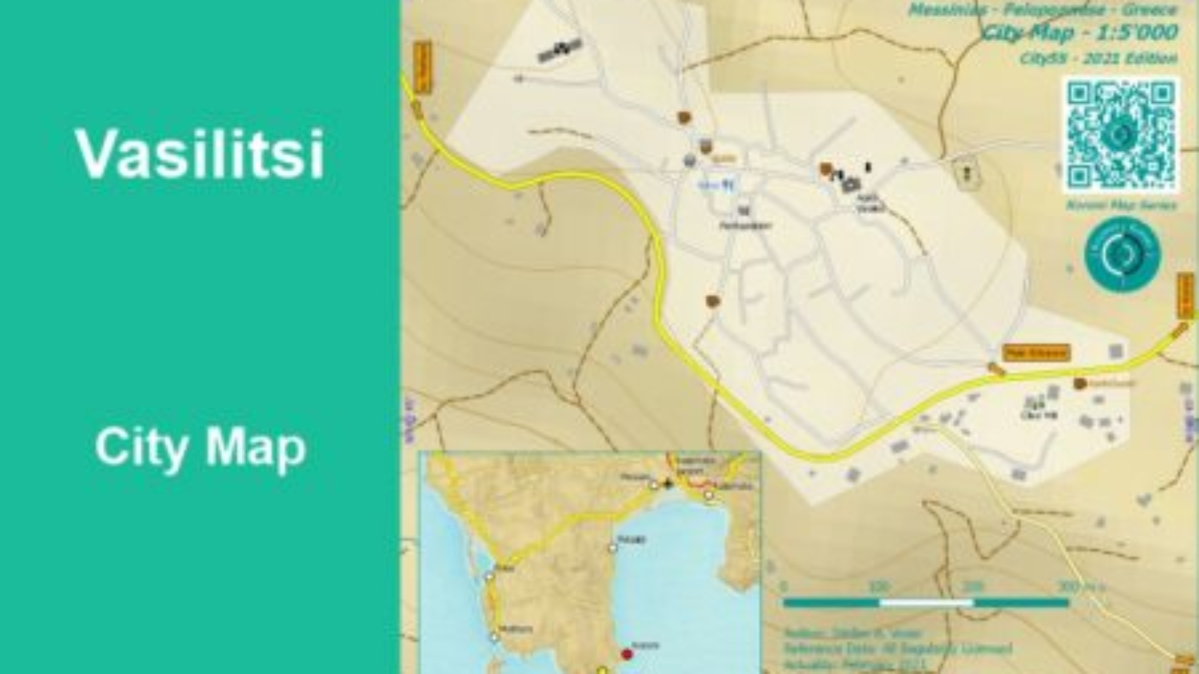 Vasilitsi City Map