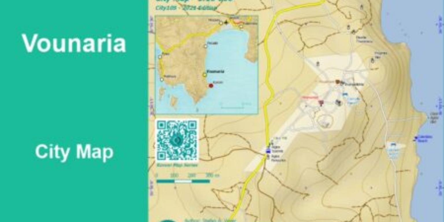 Vounaria City Map