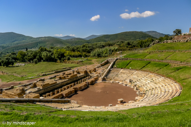 Theater of Ancient Messene - Archaeological Site
