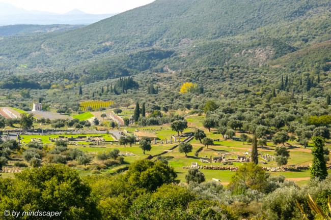 Ancient Messene From Above - Archaeological Site