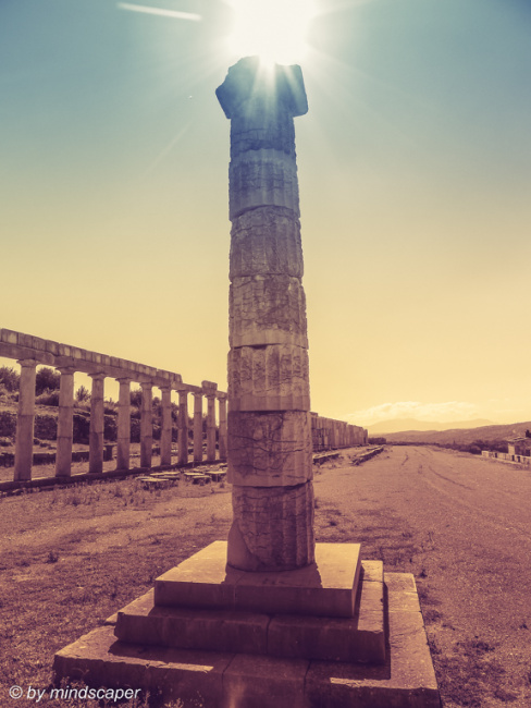 Column of Ancient Messene - Archaeological Site