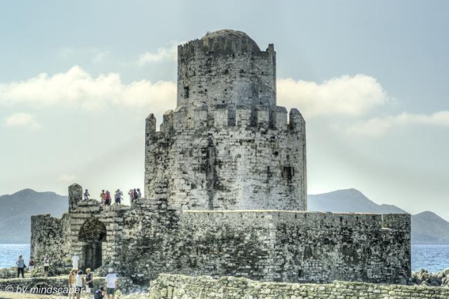 Mpourtzi Fortress of Methoni Kastro