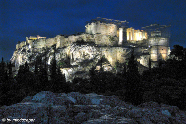 Akropolis by Night - Athens