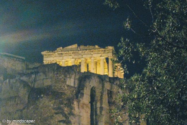 Parthenon - Akropolis by Night - Athens
