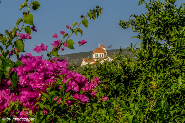 Aproaching Vasilitsi - View of Agios Vasilios
