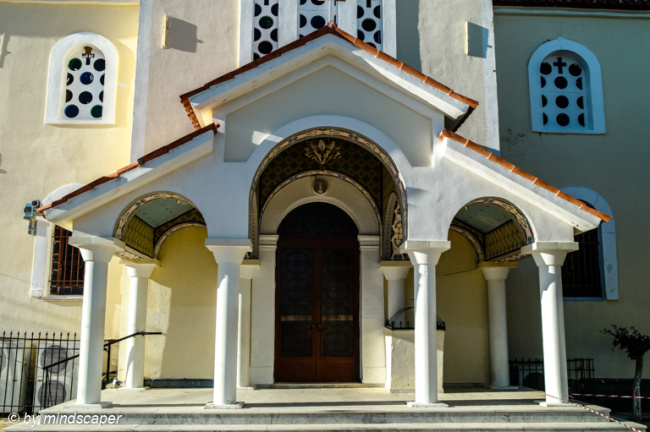Entrance of Agios Vasilios - Vasilitsi