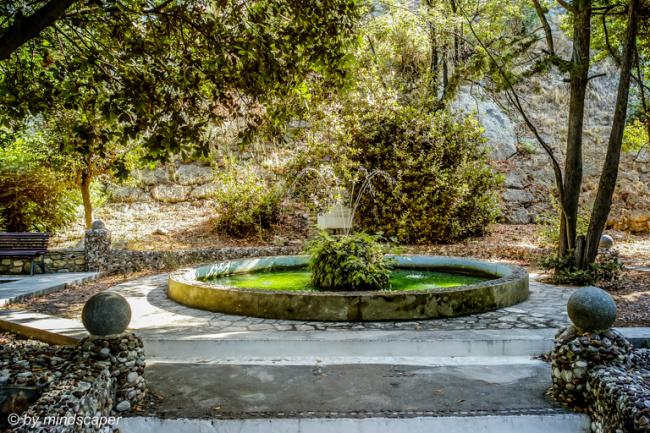 Fountain in Eleistria Park - Koroni