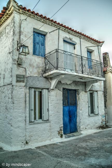 House with Blue Door - Vasilitsi