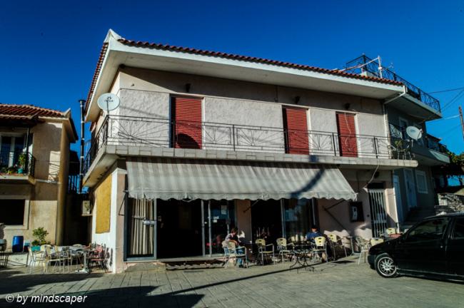 Kafeneion next to Agios Vasilios - Vasilitsi