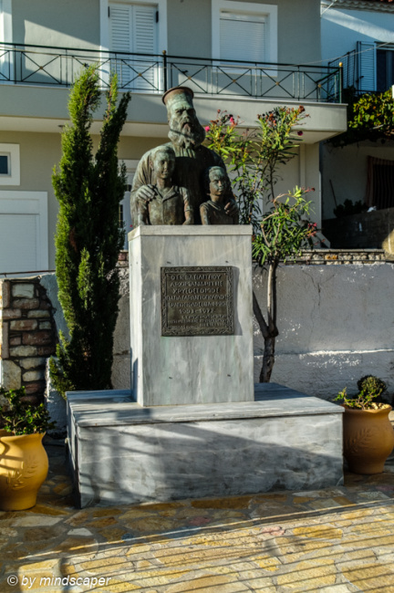 Memorial next to Agios Vasilios - Vasilitsi