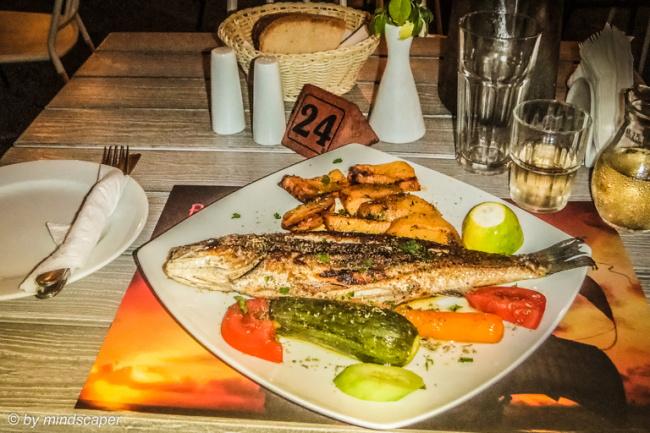 Grilled Fish at Barbarossa