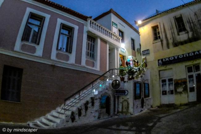 Koukla Shop in the Eveningrise - Koroni