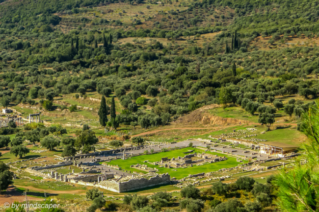 Asklepieion from Above - Ancient Messene