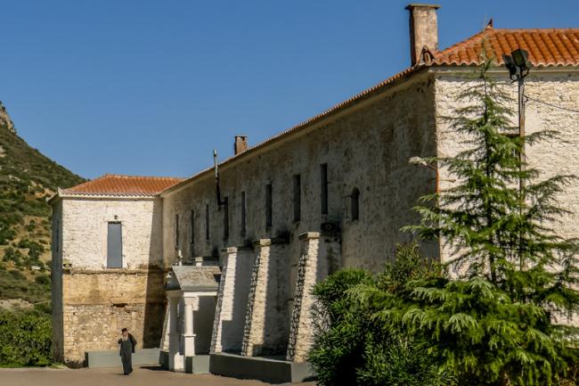 Voulkanos Monastery