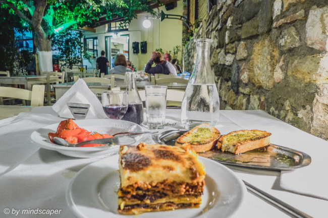 Moussaka at Bogris 2 - Koroni