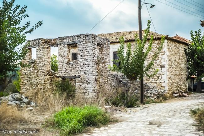 Stoned House and Ruin in Mistraki