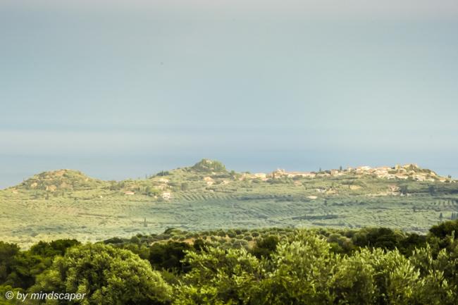 Panoramic View to Vounaria from Mistraki