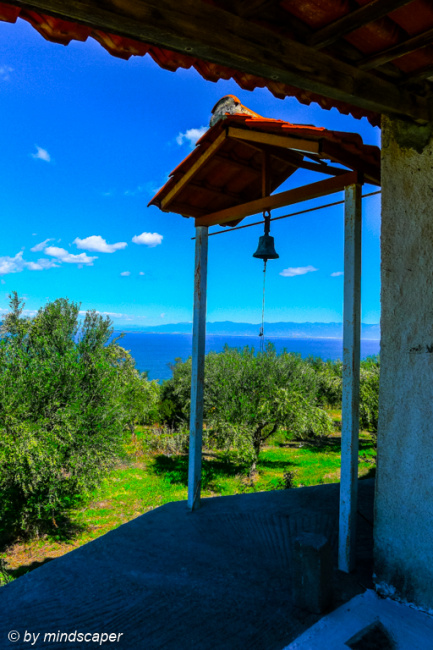 Panoramic View From Small Church in Nea Koroni