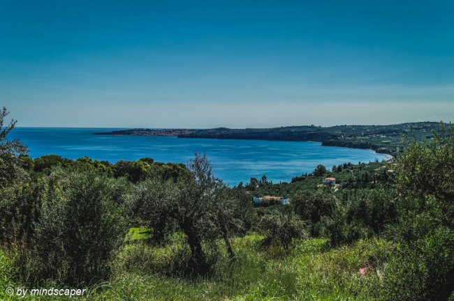 Panoramic View from Vounaria to Koroni