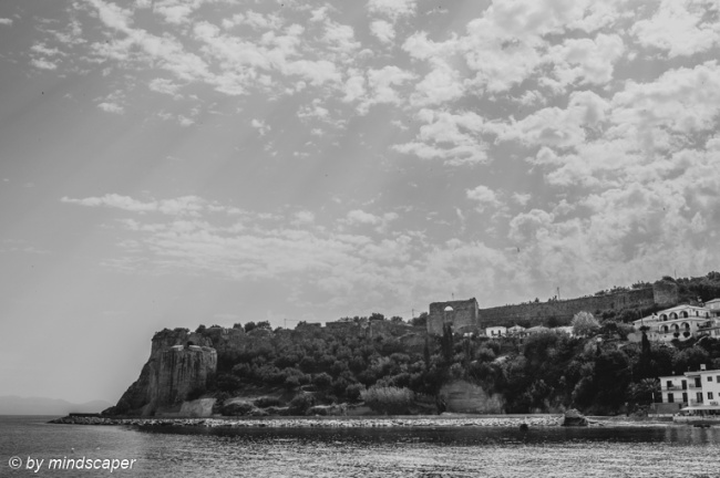 Kastro with Morning Clouds
