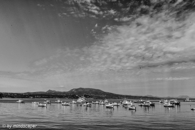 Fisherboats in Koroni Harbour