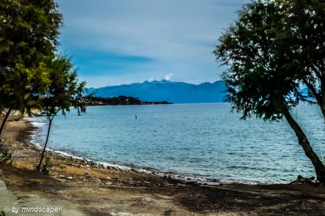 View from Limanaki to Koroni