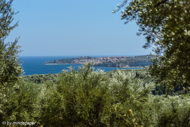 Panoramic View to Koroni from North