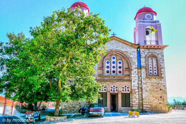Evangelismoú Tis Theotókou Church - Vounaria