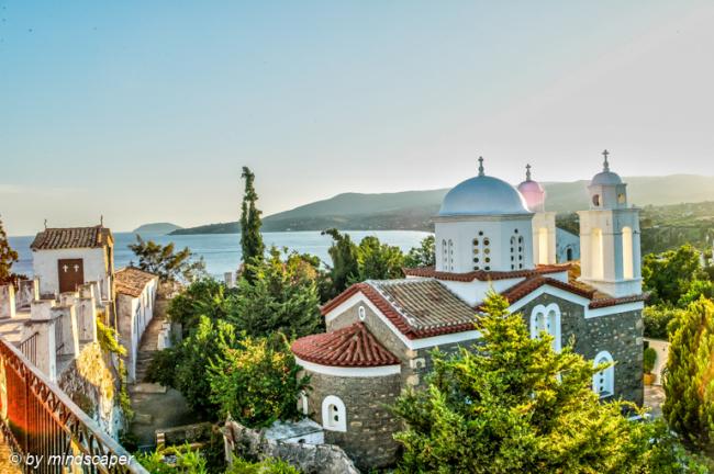 Timiou Prodromou Monastery Koroni